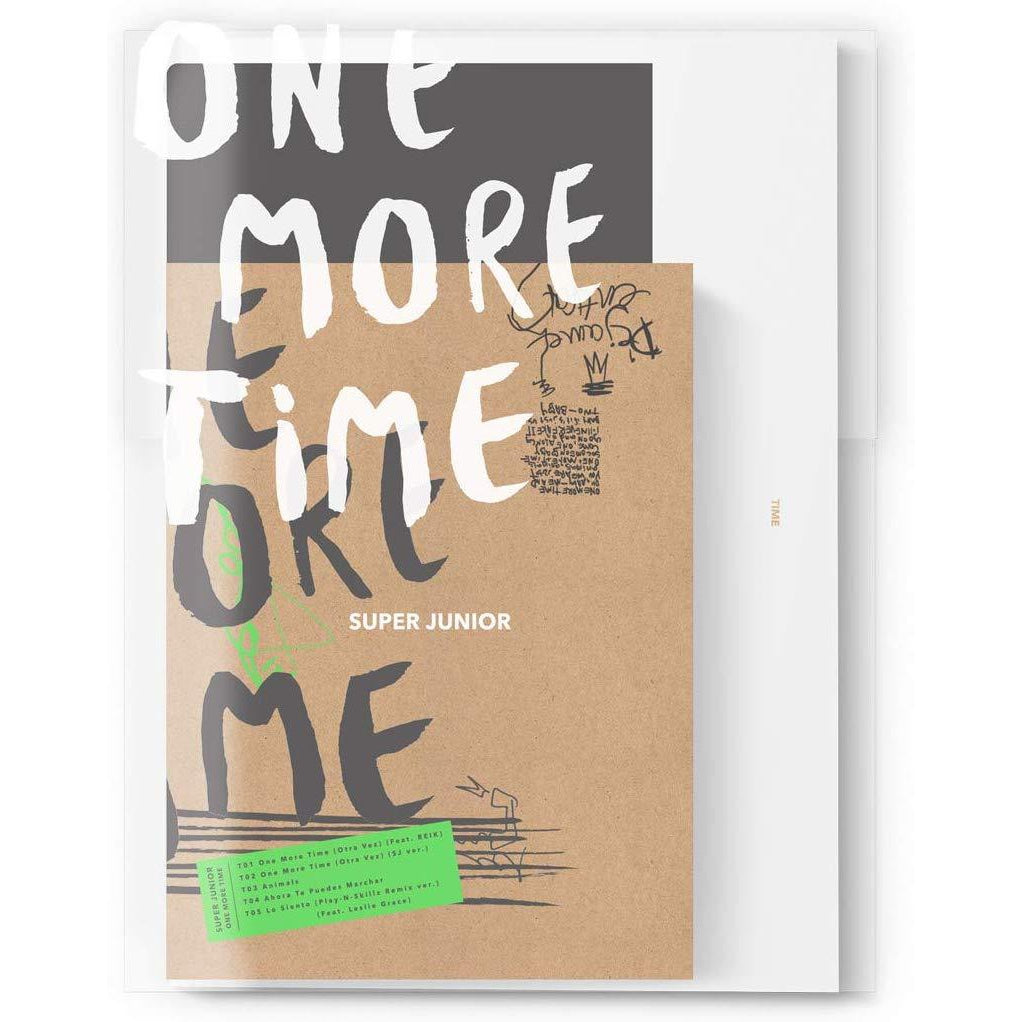 One More Time(Normal): - Super Junior [CD]