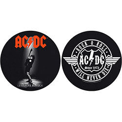 AC/DC - Let There Be Rock / Rock and Roll (2 Slipmats) [Accessories]