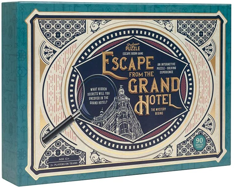 Professor PUZZLE - Escape From The Grand Hotel [Toys]