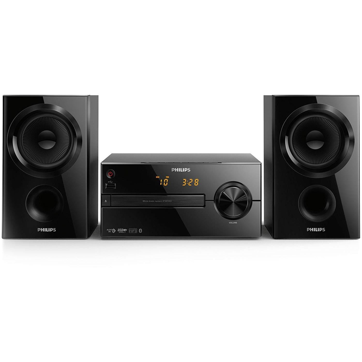 Philips BTM1560/12 Micro Bluetooth Music System [Accessories]