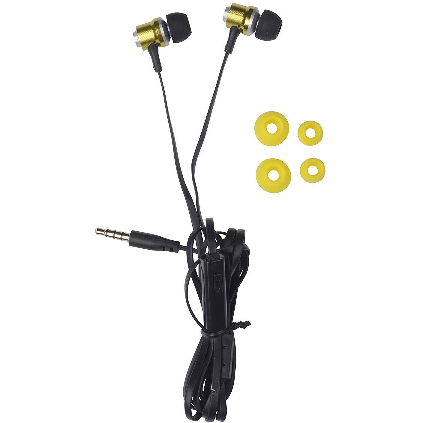 Grundig Earphones Flat Cable Gold [Accessories]