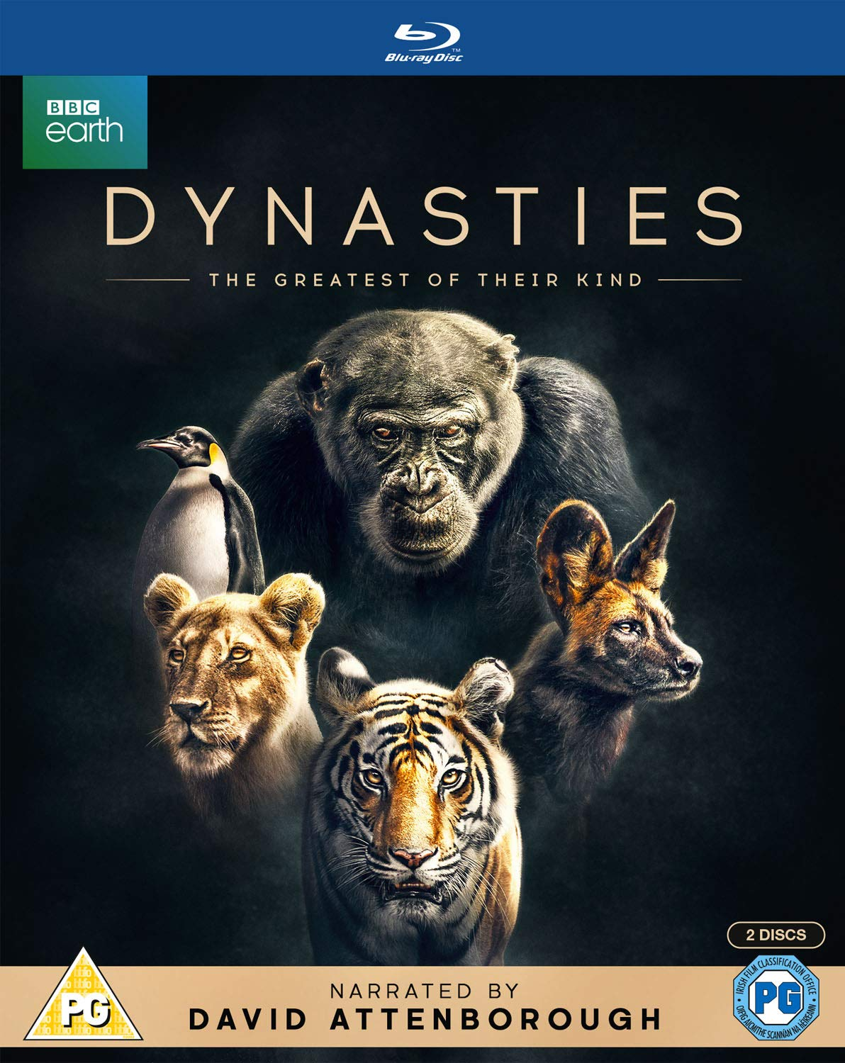 Dynasties - David Attenborough [BLU-RAY] PR-ORDER NOW