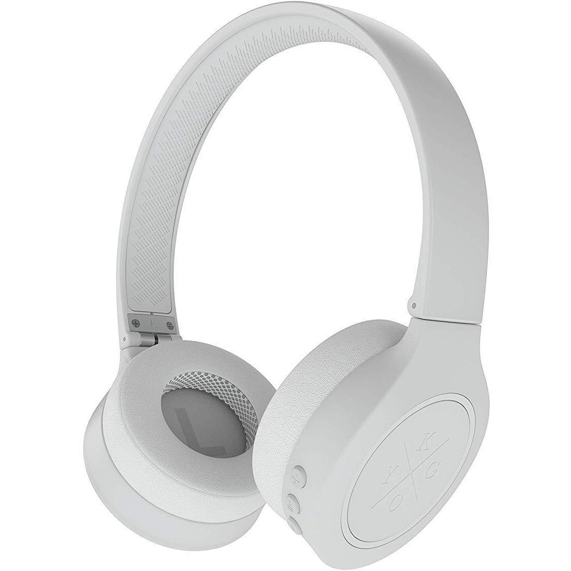 Kygo A4/300 Wireless Bluetooth 4.2 On Ear Headphones - White [Accessories]