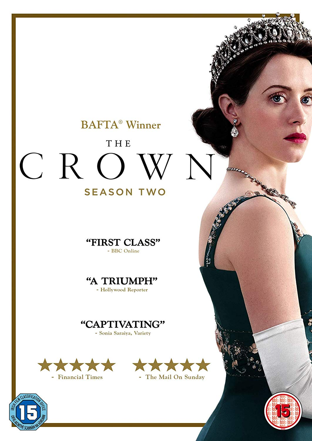 The Crown: Season Two - Peter Morgan [DVD]