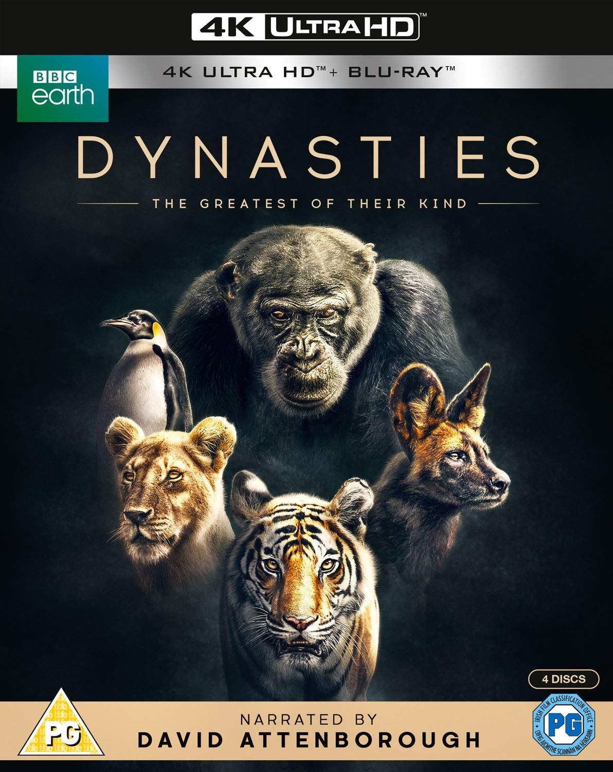 Dynasties - David Attenborough [4K UHD]