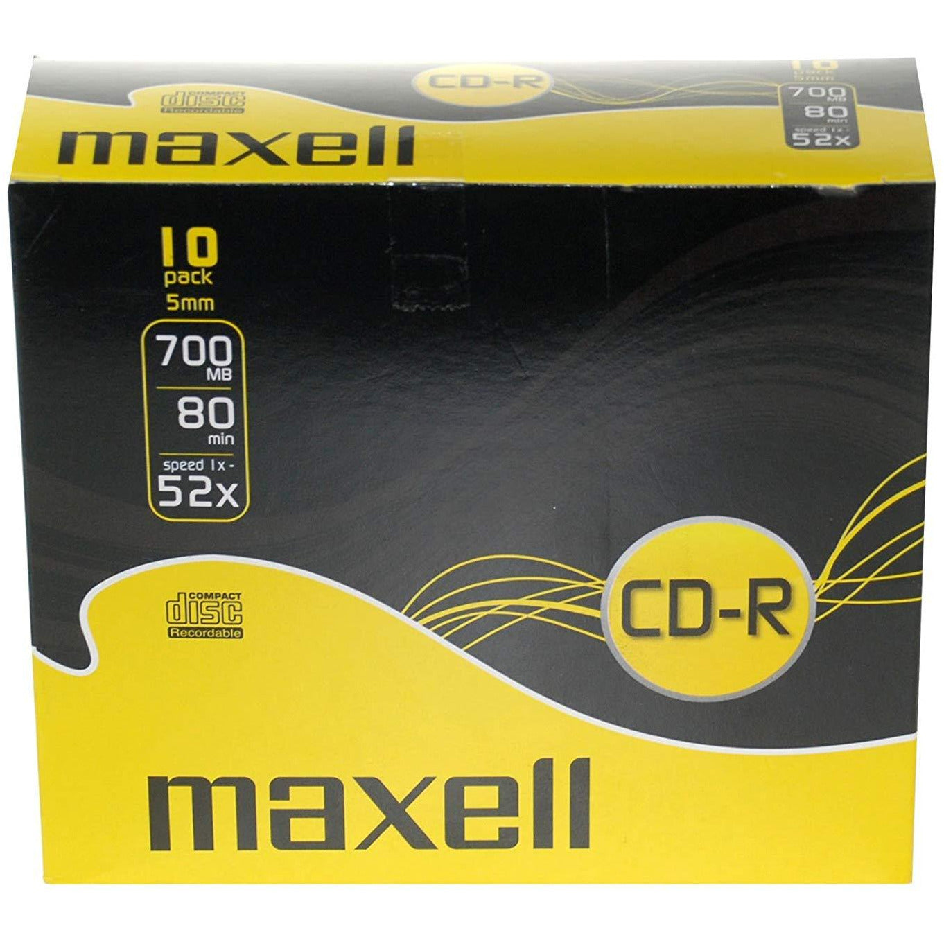 Maxell CD-R compact disc 10 pack [Accessories]