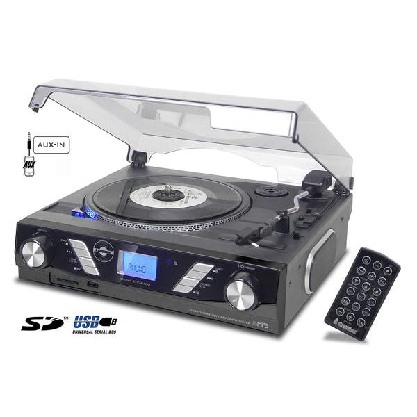 STEEPLETONE PRO TURNTABLE BLACK[TECH & TURNTABLES] GOLDEN DISCS