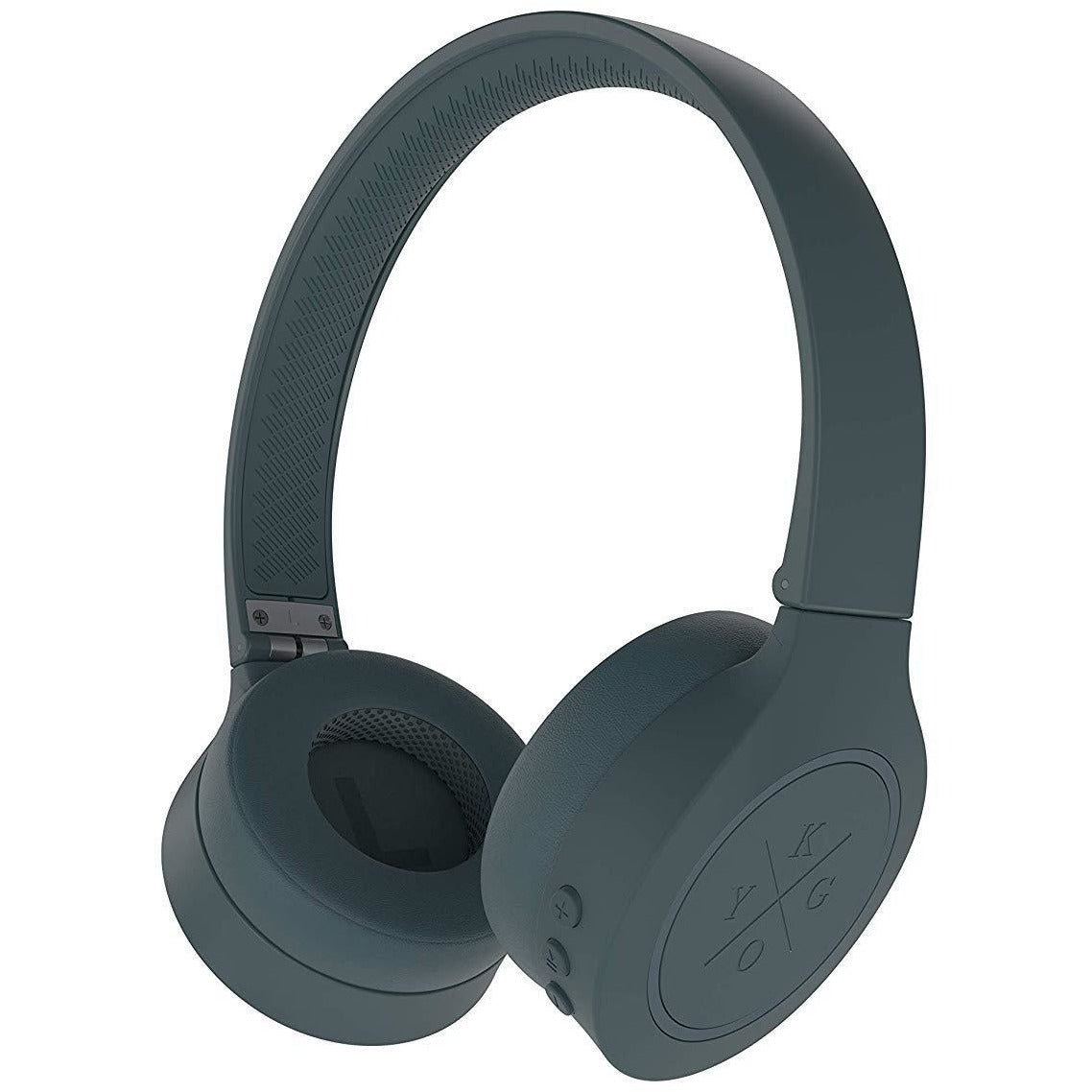 Kygo A4/300 Wireless Bluetooth 4.2 On Ear Headphones - Storm Grey [Accessories]