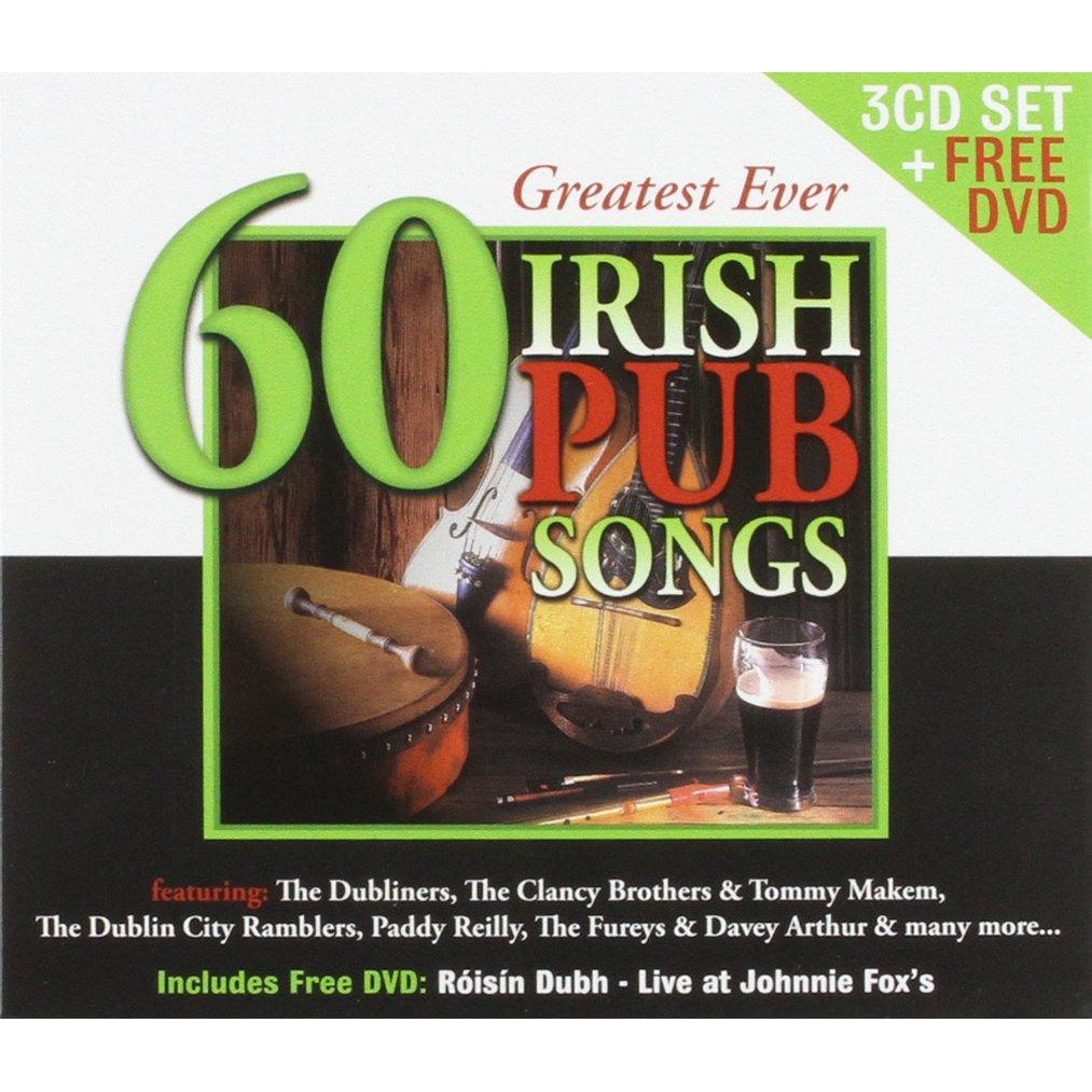 60 Greatest Ever Irish Pub Songs[CD]