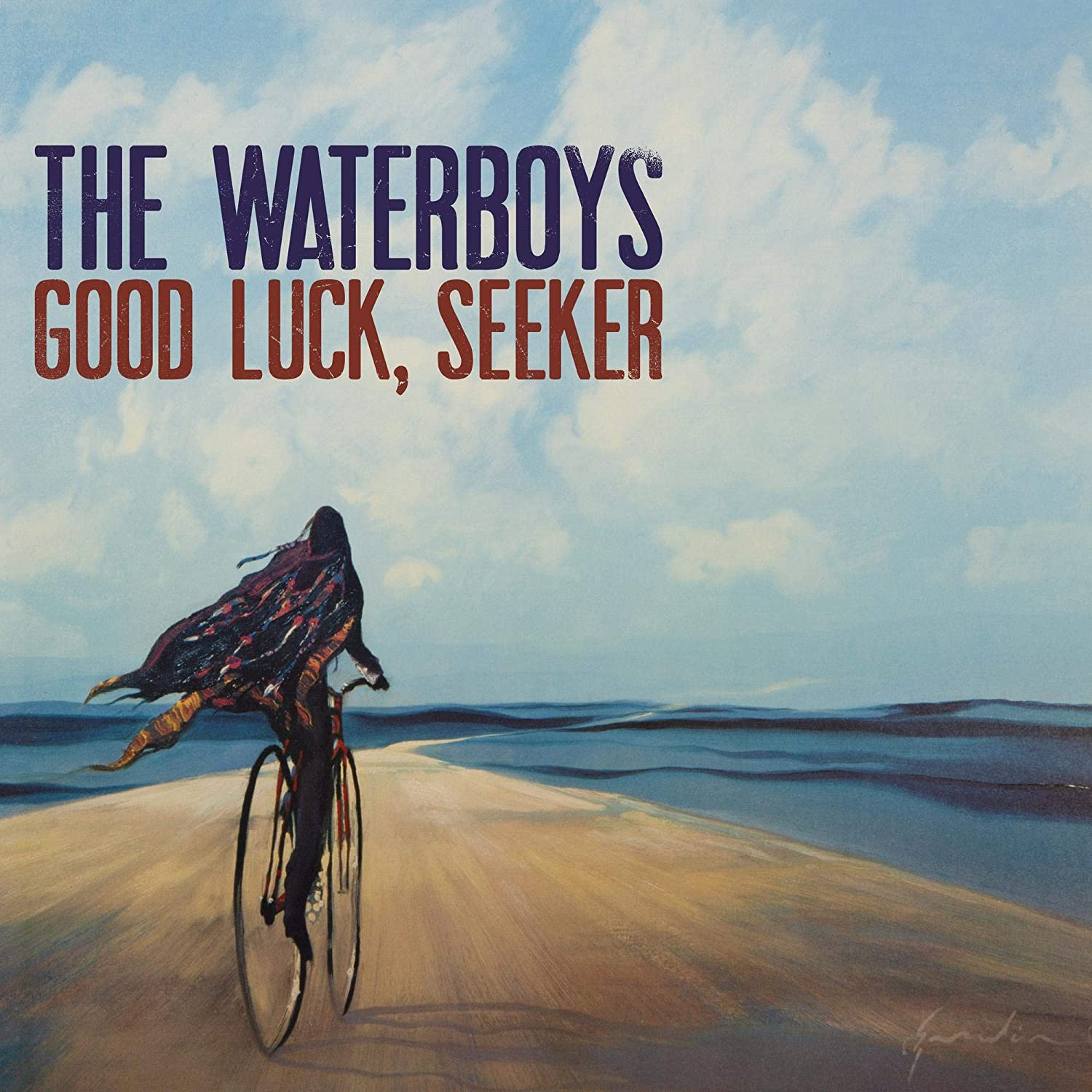 THE WATERBOYS:- GOOD LUCK, SEEKER DLX [CD] (Due out 21.08.20)