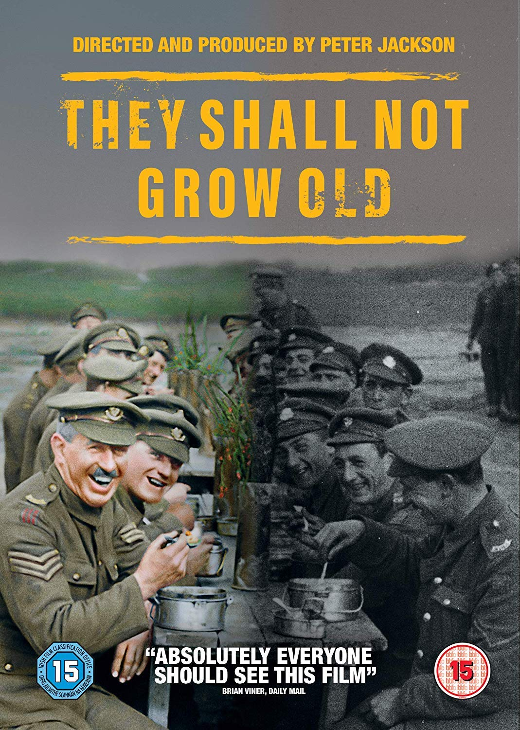 They Shall Not Grow Old - Peter Jackson [DVD]