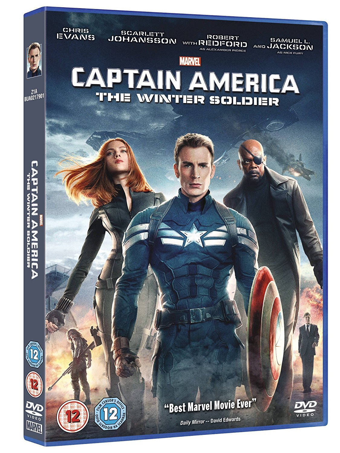 Captain America: The Winter Soldier - Anthony Russo [DVD]