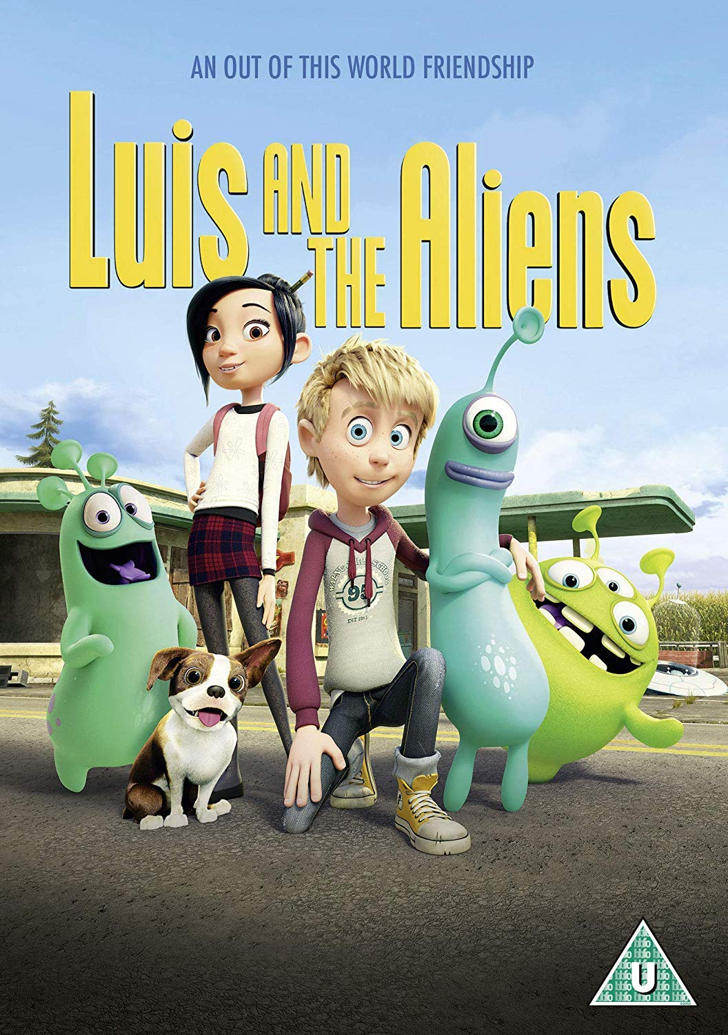 Luis and the Aliens - Christoph Lauenstein [DVD]