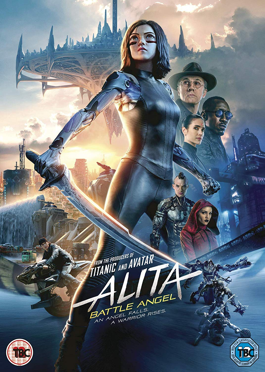 Alita - Battle Angel - Robert Rodriguez [DVD]