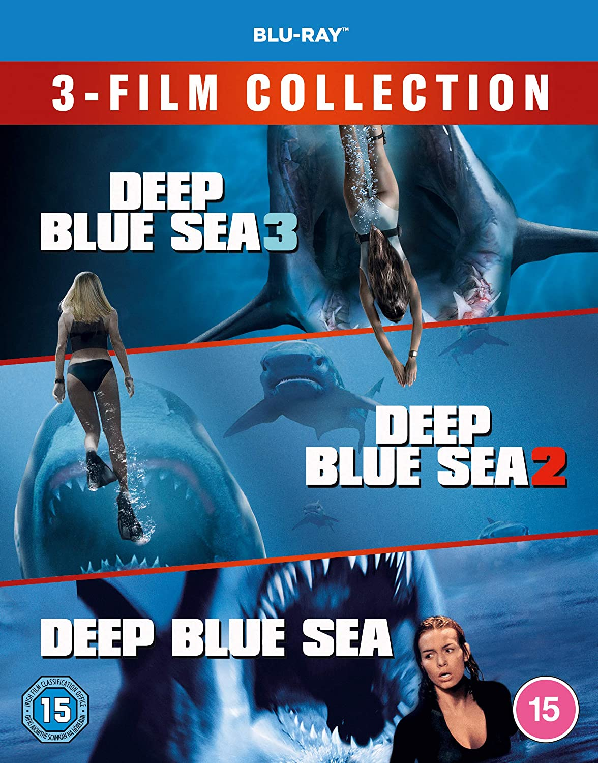 Deep Blue Sea 3-Film Collection [Blu-ray]