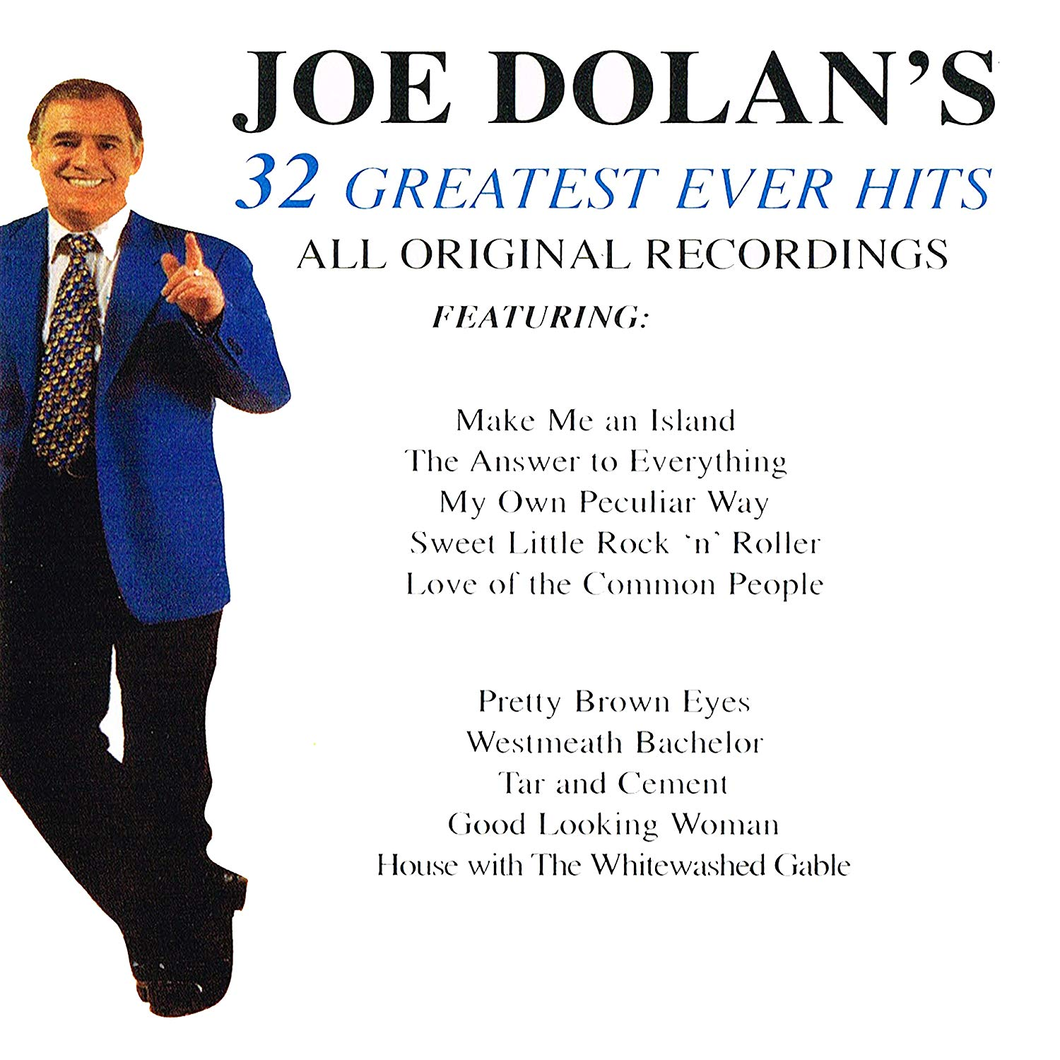 32 Greatest Ever Hits: Joe Dolan[CD]