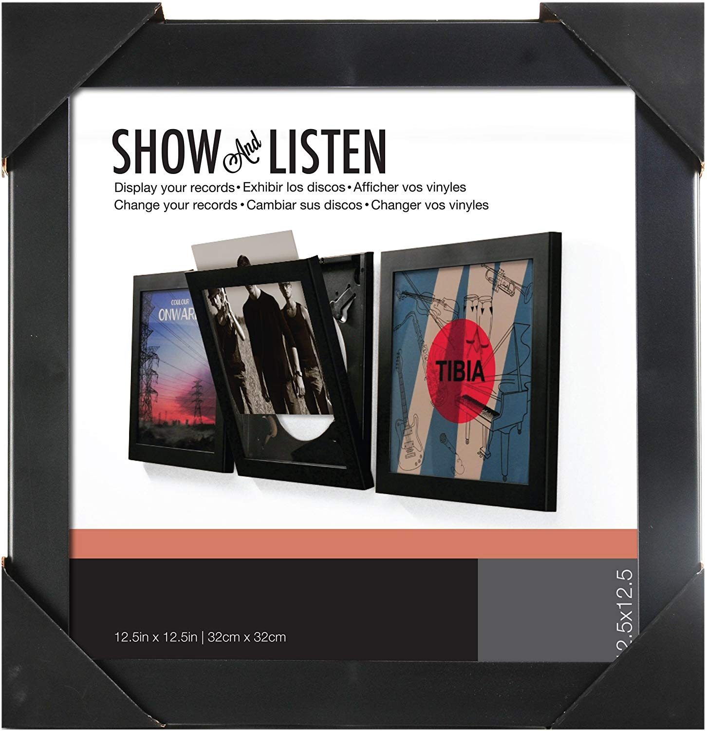 SHOW AND LISTEN LP FRAME BLACK [Accessories]