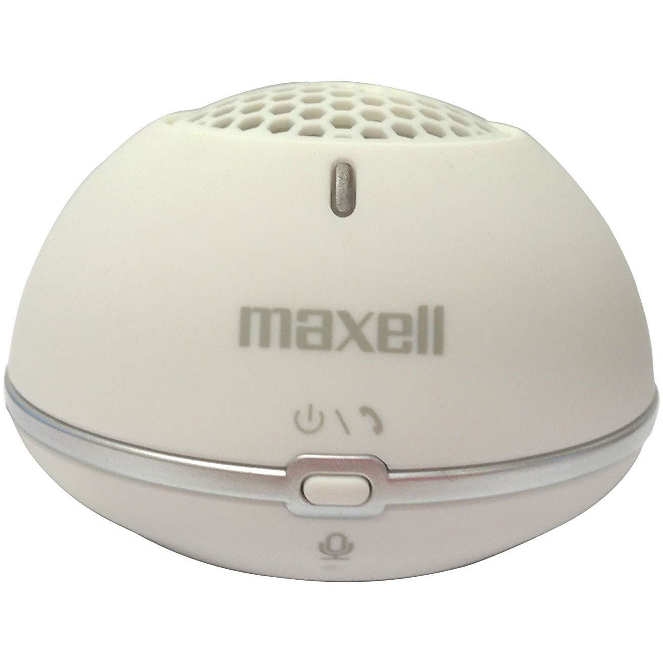 Maxell MXSP-BT01 3.0 Mini Bluetooth Speaker - White [Accessories]