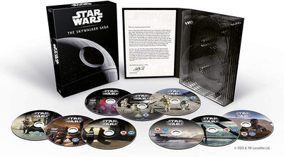 Star Wars: The Skywalker Saga Complete Boxset - George Lucas [DVD]