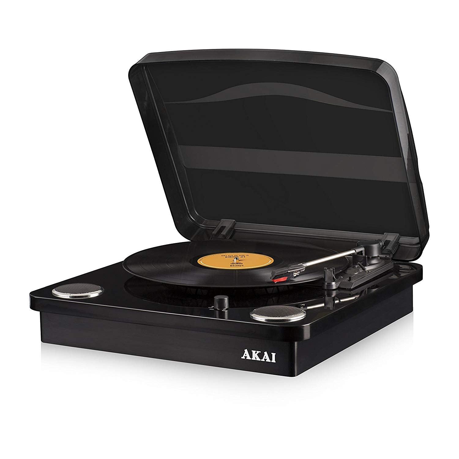 AKAI CLASSIC 3 SPEED TURNTABLE BLACK [TECH & TURNTABLES] GOLDEN DISCS