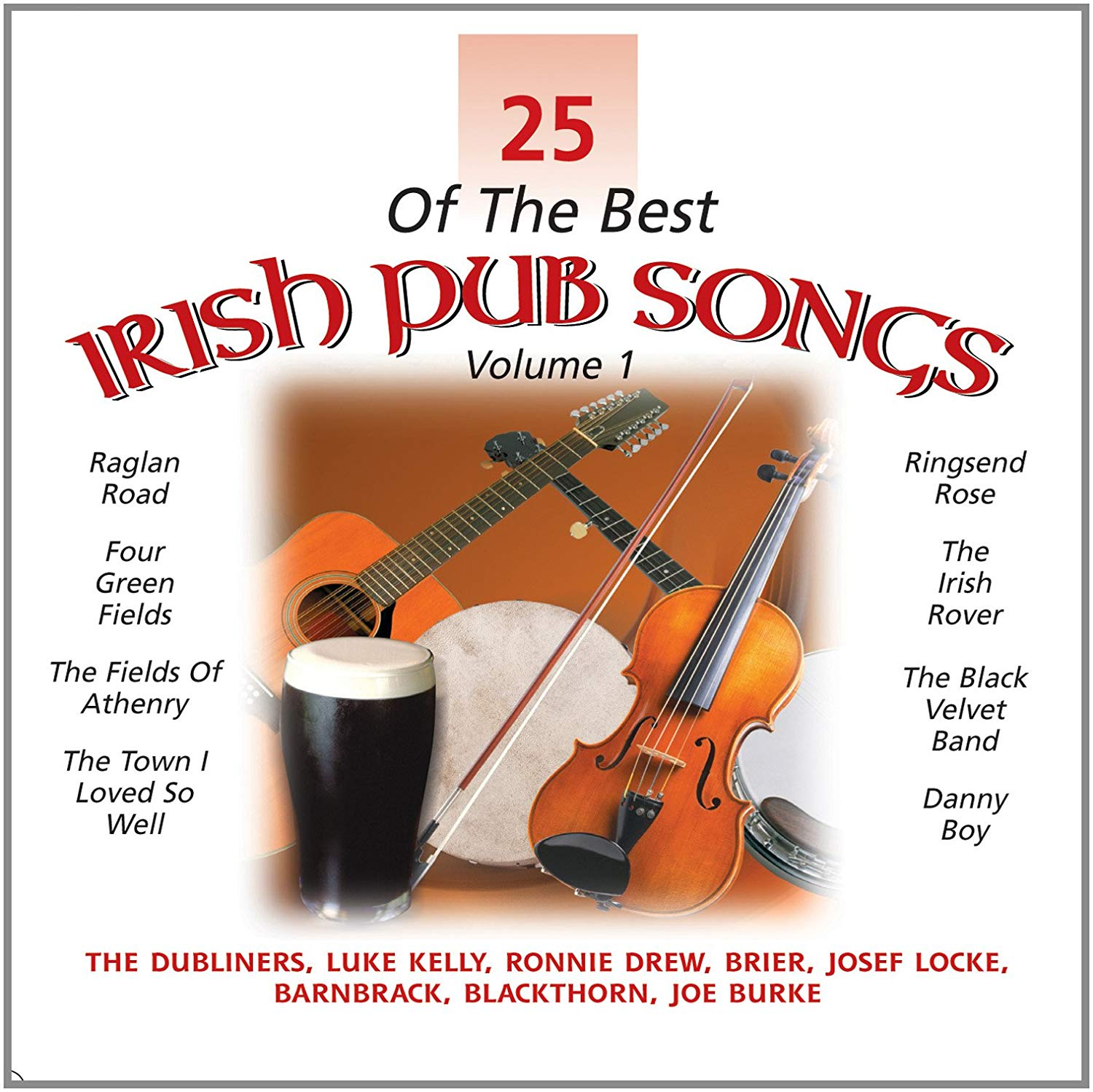25 Best Of Irish Pub Songs: Various Artists [CD]