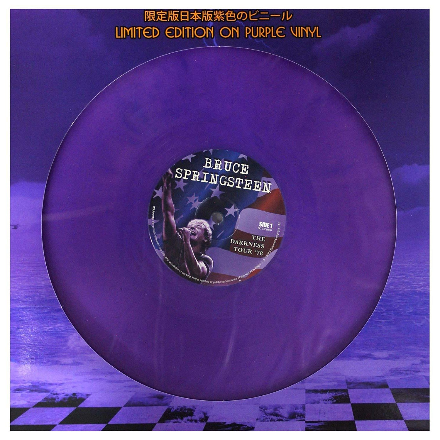 The Darkness Tour '78 (Limited Edition on Purple Vinyl) [Vinyl]