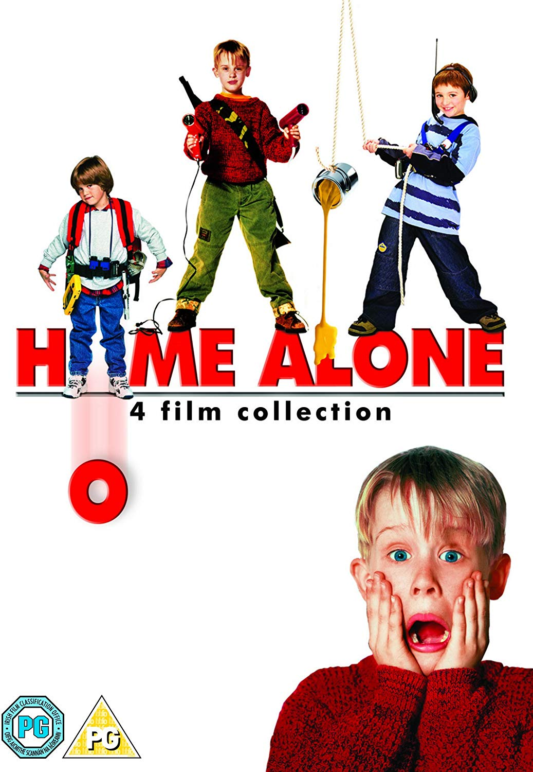 Home Alone/Home Alone 2 /Home Alone 3/Home Alone 4 - Chris Columbus [DVD]