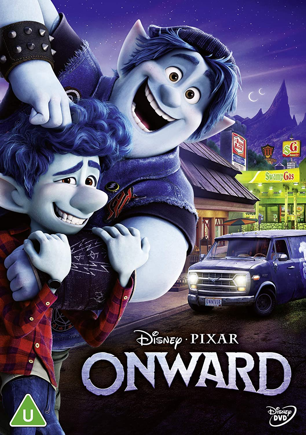 Onward - Dan Scanlon [DVD]