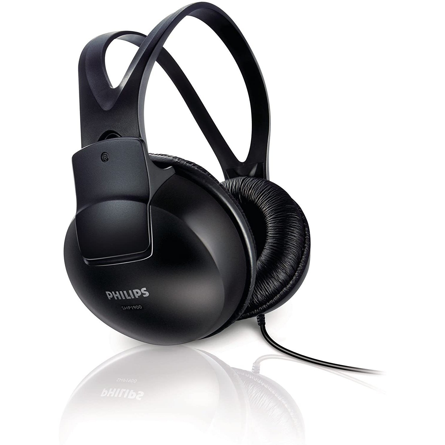 Philips SHP1900 Stereo Over-Ear Headphones - Black [Accessories]