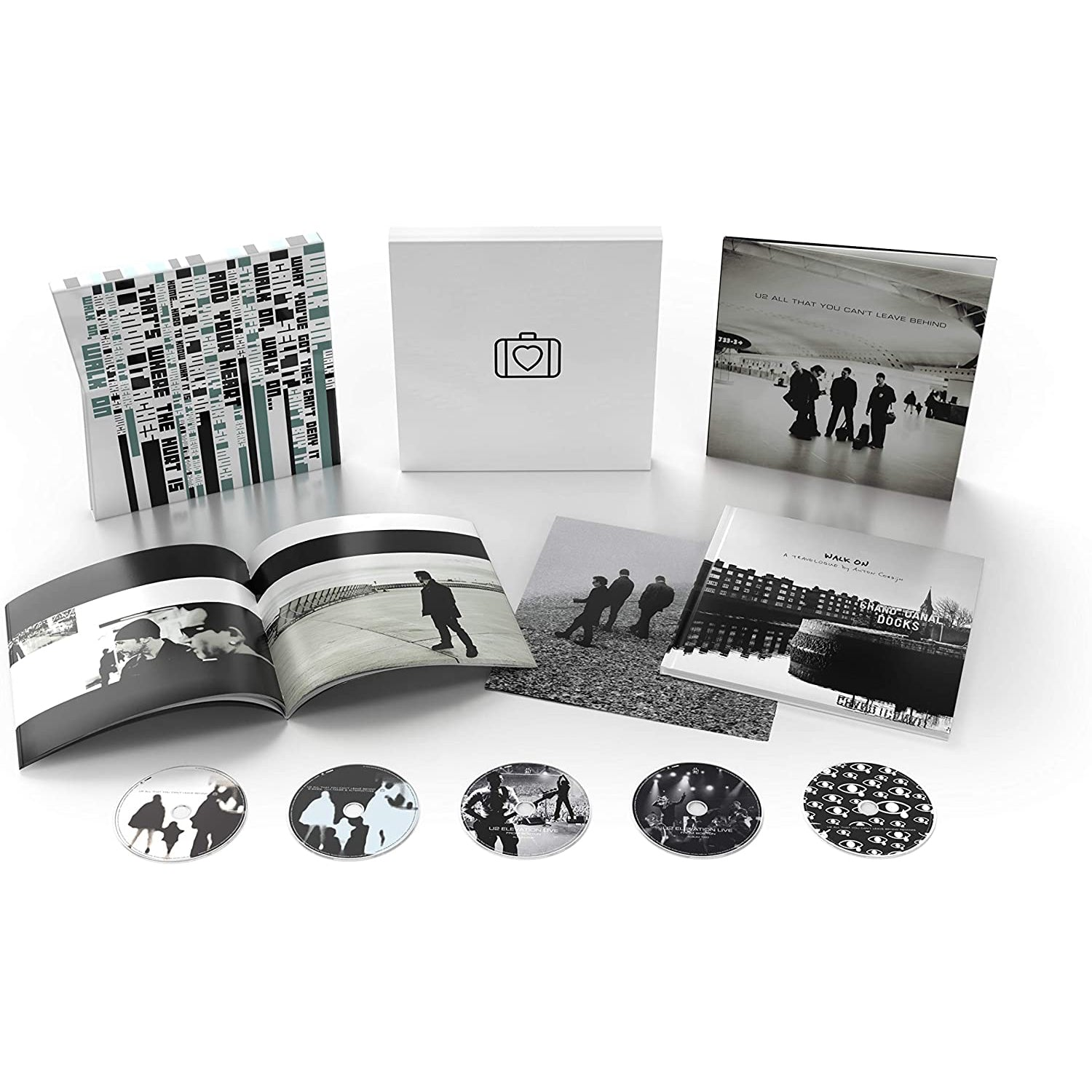 All That You Can't Leave Behind (20th Anniversary Super Deluxe CD Box Set):   - U2 [CD]