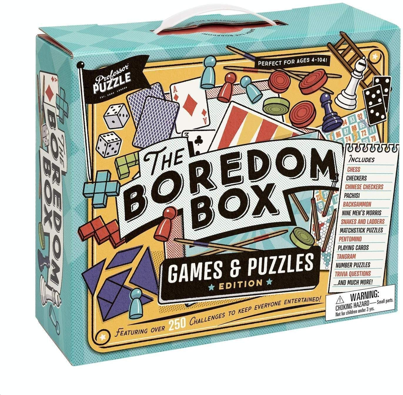 The Boredom Box Games & Puzzles Set [Toys]