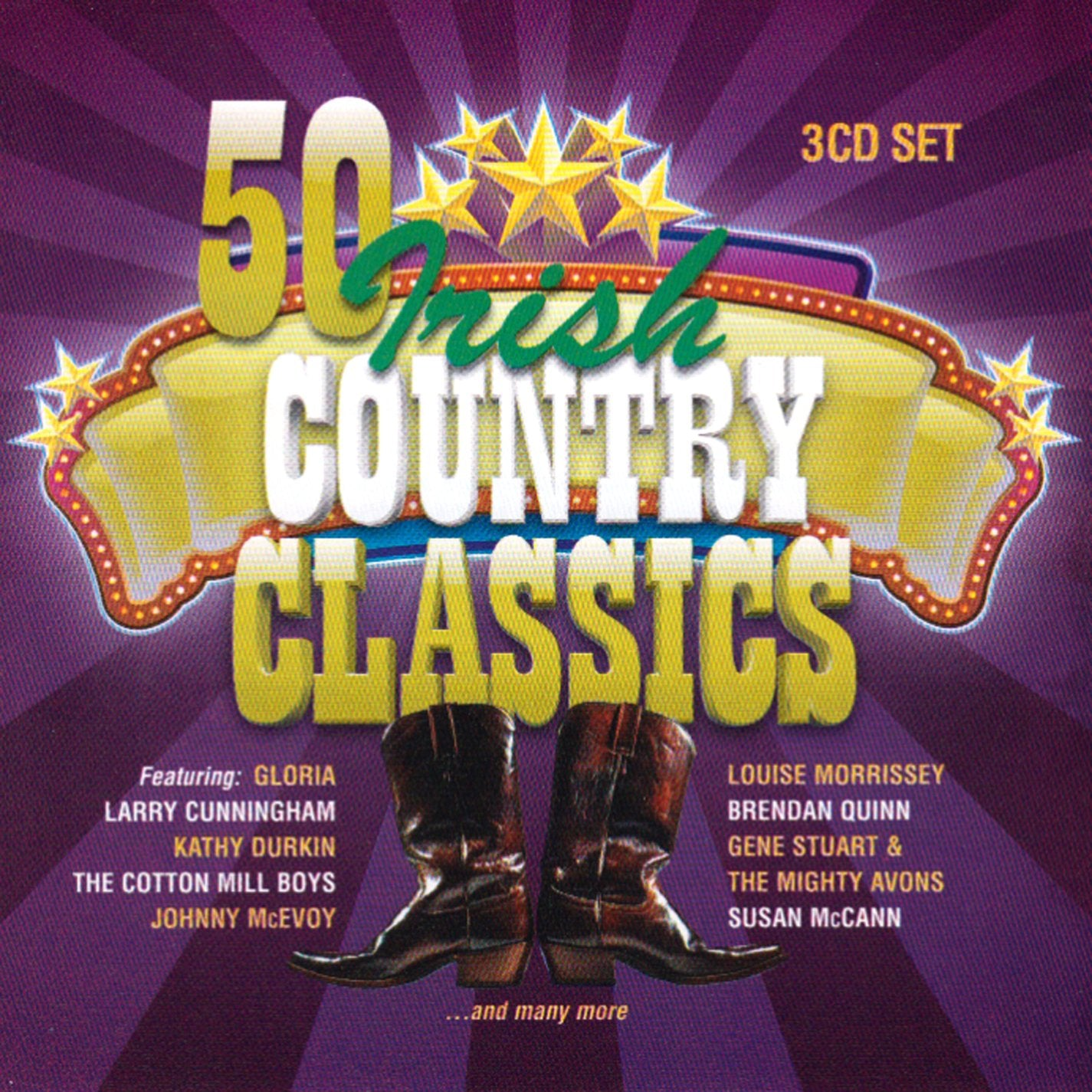 50 Irish Country Classics: Various [CD]