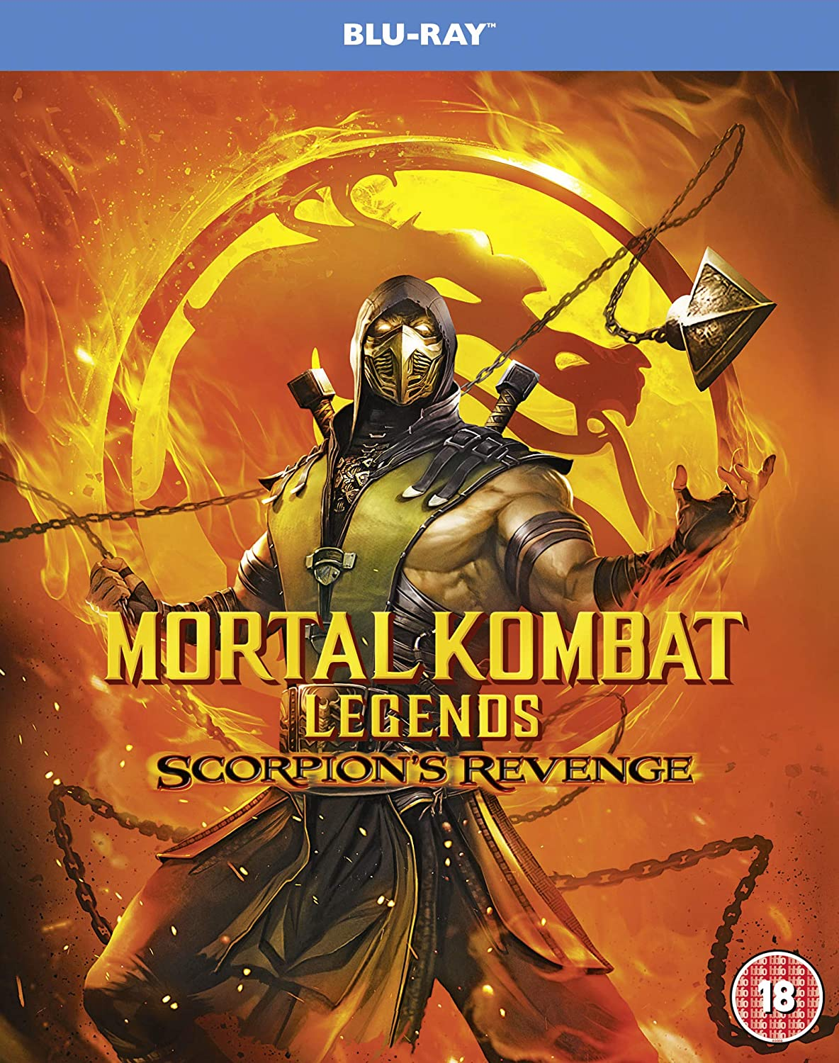 Mortal Kombat Legends: Scorpion's Revenge - Ethan Spaulding [BLU-RAY]