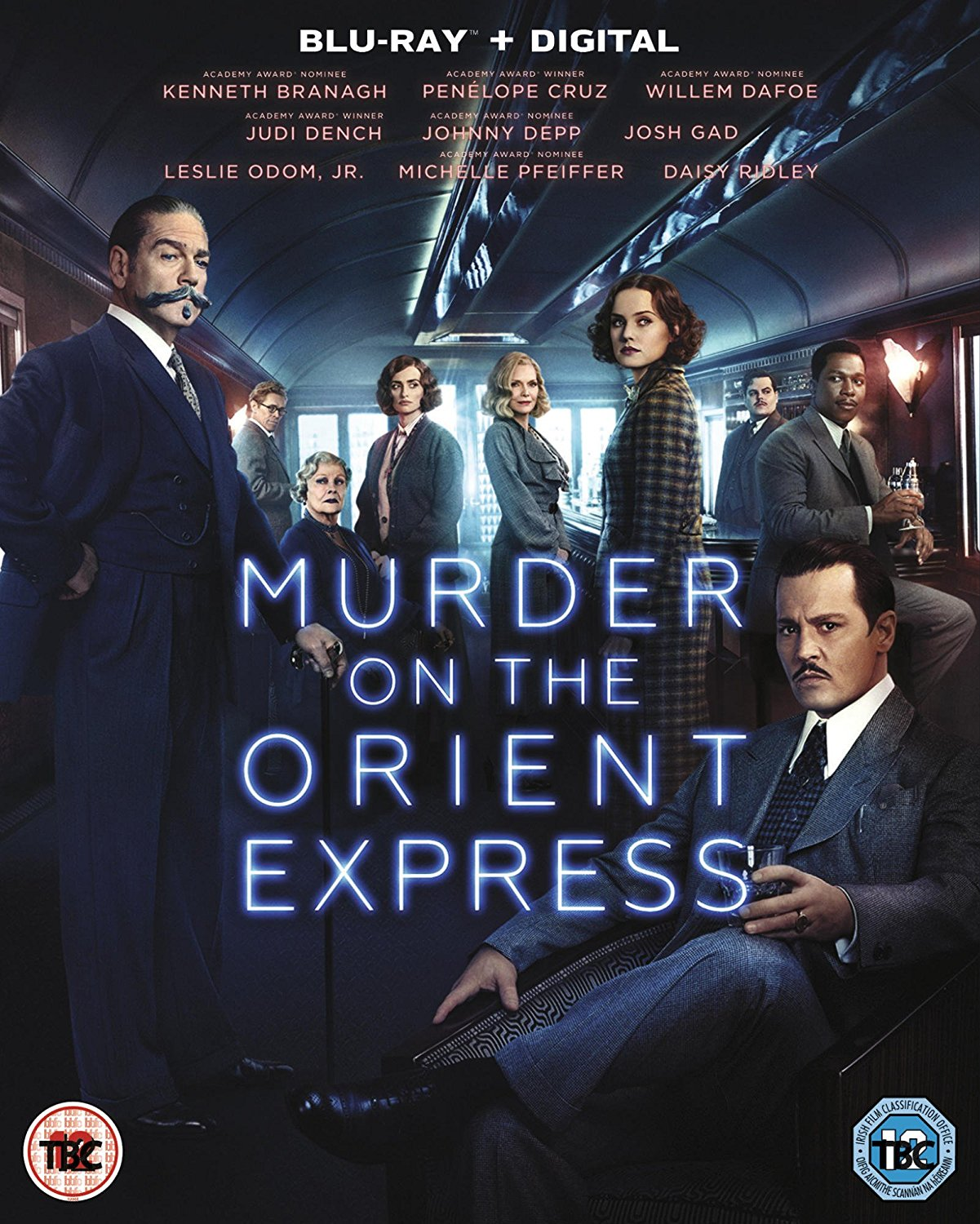 Murder On The Orient Express (2017) - Blu-ray