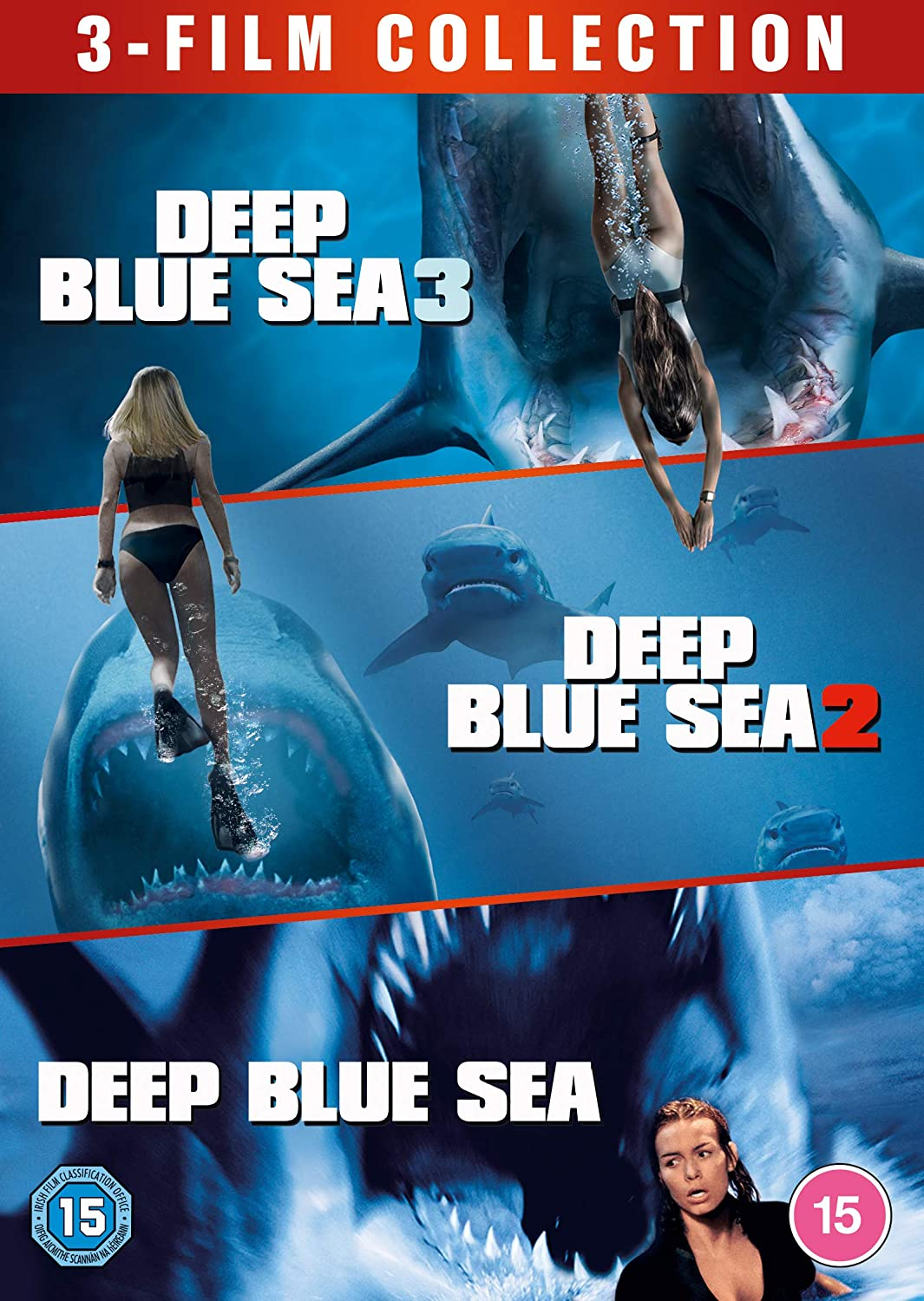 Deep Blue Sea 3-Film Collection [DVD]