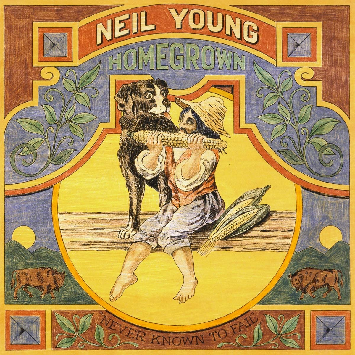 NEIL YOUNG:- HOMEGROWN [CD]
