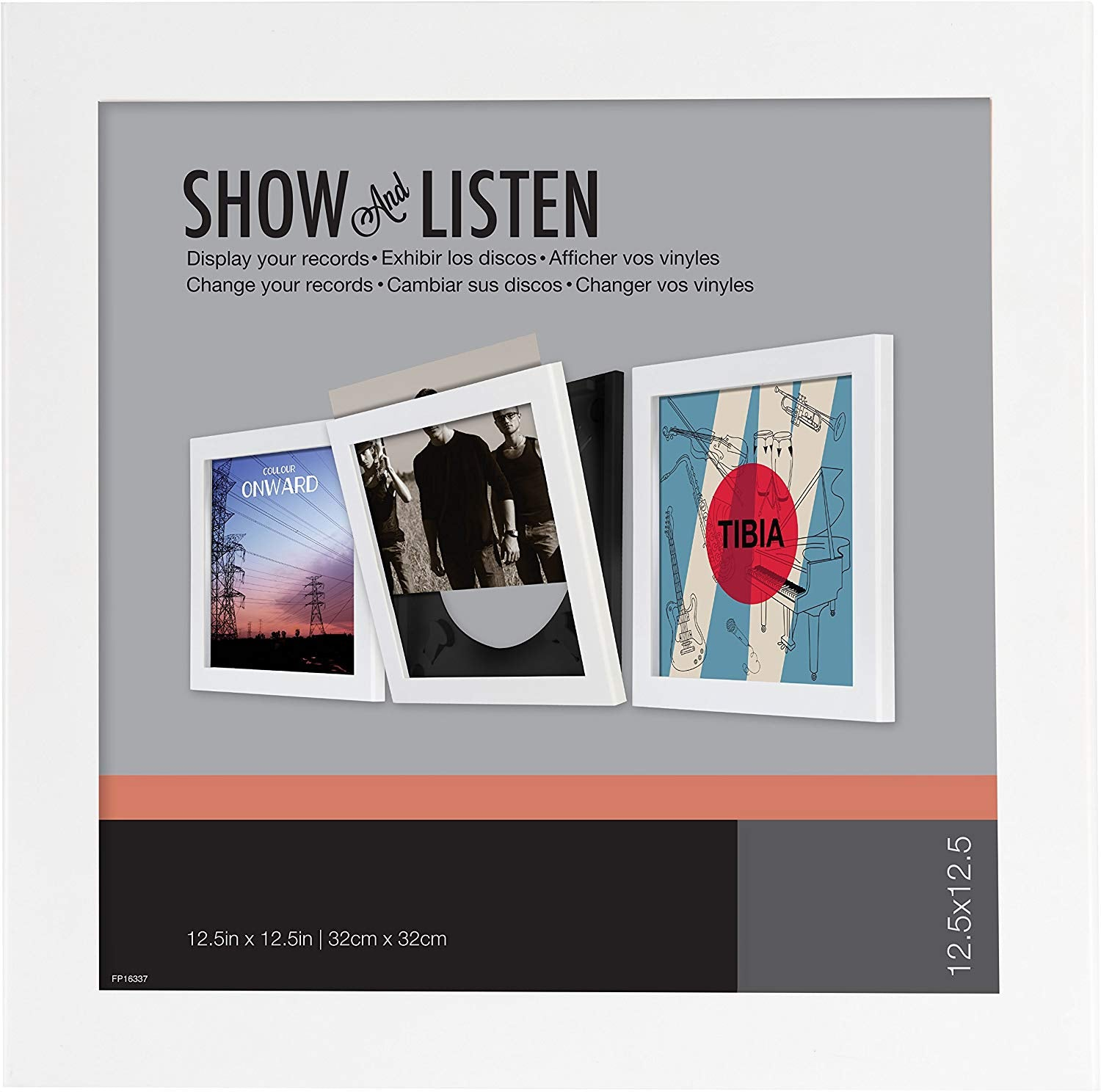 SHOW AND LISTEN LP FRAME - WHITE [Accessories]