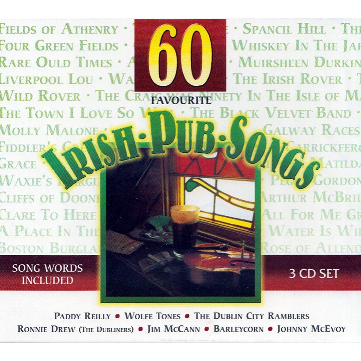 60 Favorite Irish Pub Songs [CD]