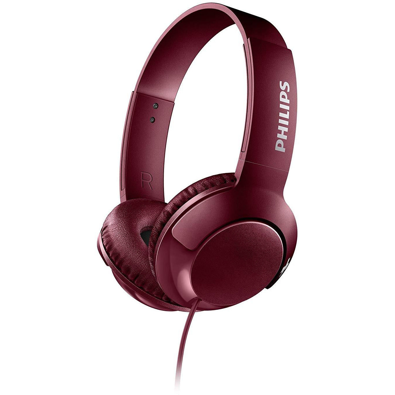 Philips Bass Over Ear Headphones Red [Accessories]