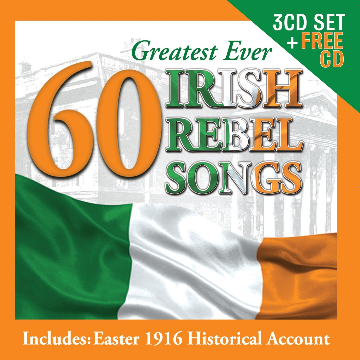 60 Greatest Ever Irish Rebel Songs [CD]