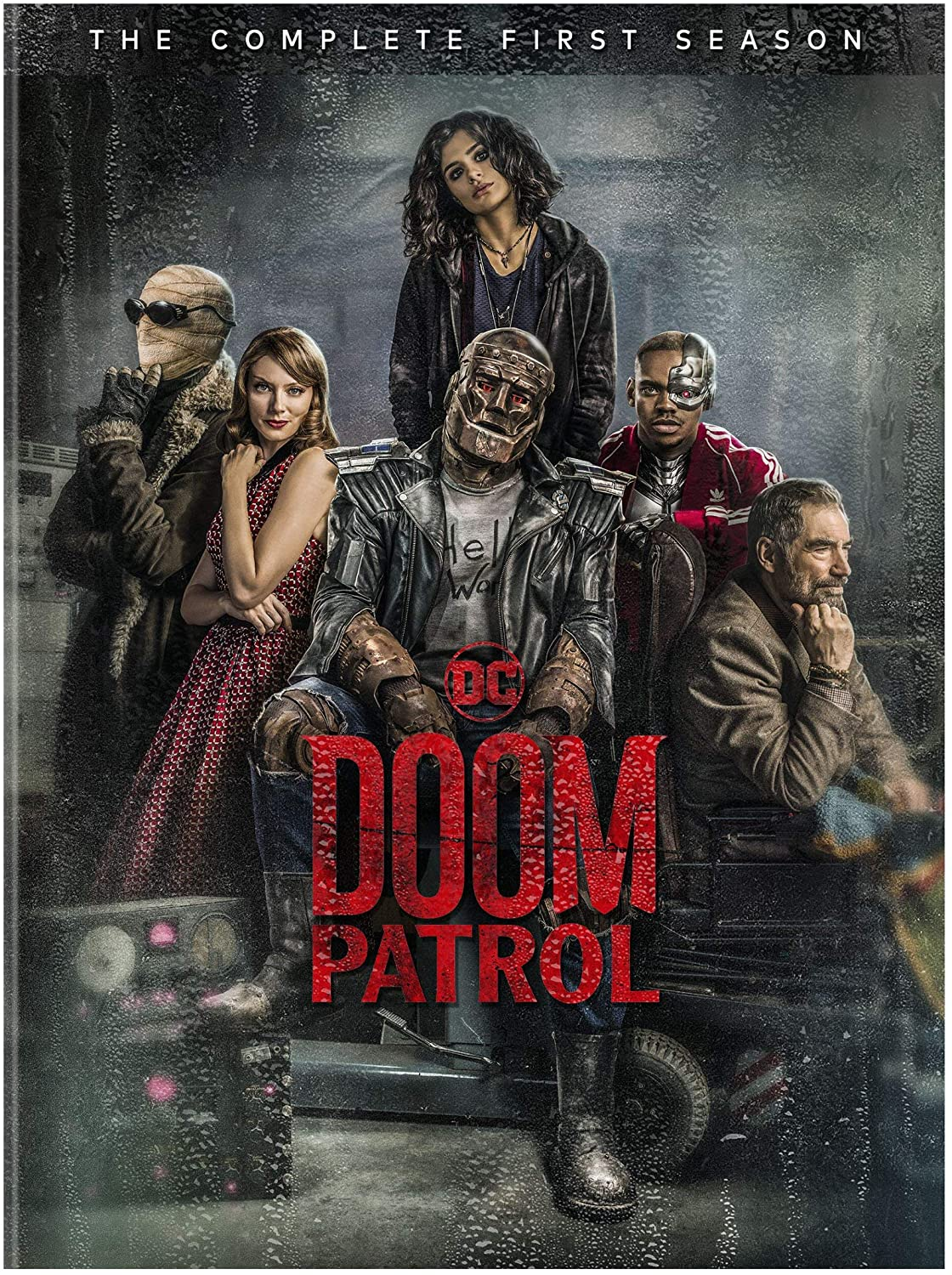 Doom Patrol: The Complete First Season [Blu-Ray] (Due out 03.07.20)