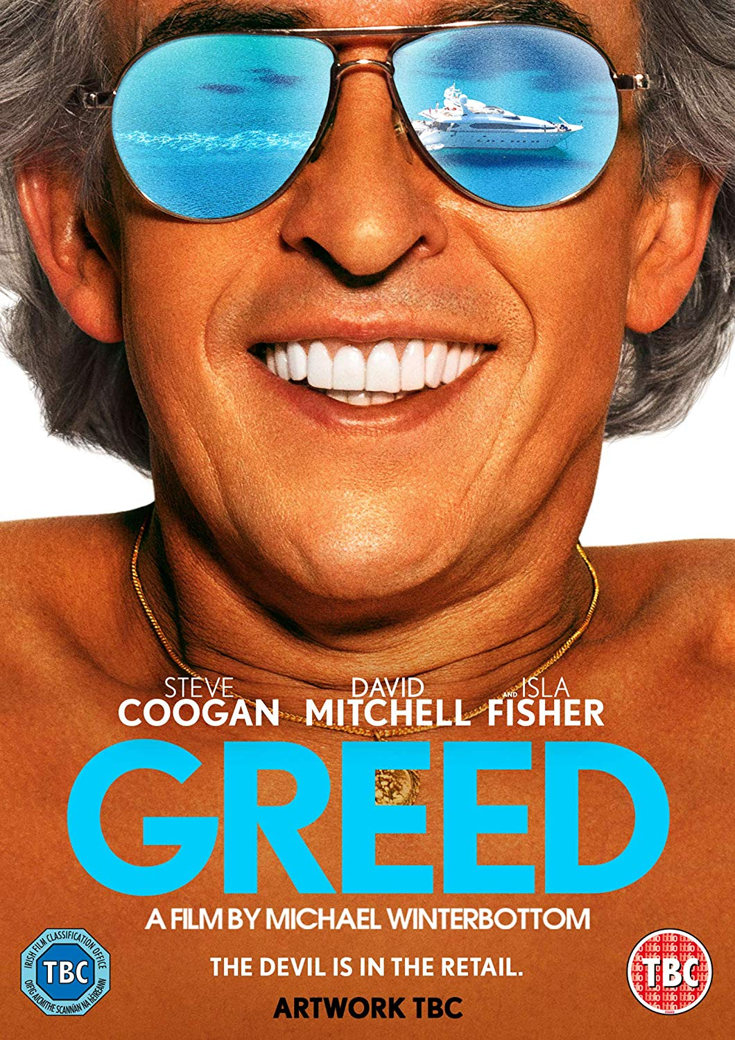 Greed - Michael Winterbottom [DVD] (Due out 26.06.20)
