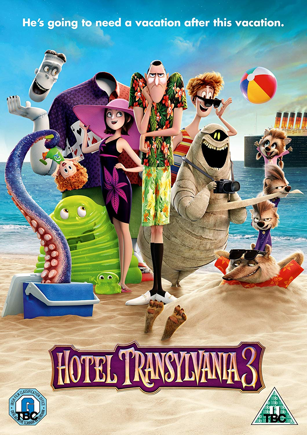 A Monster Vacation [DVD]