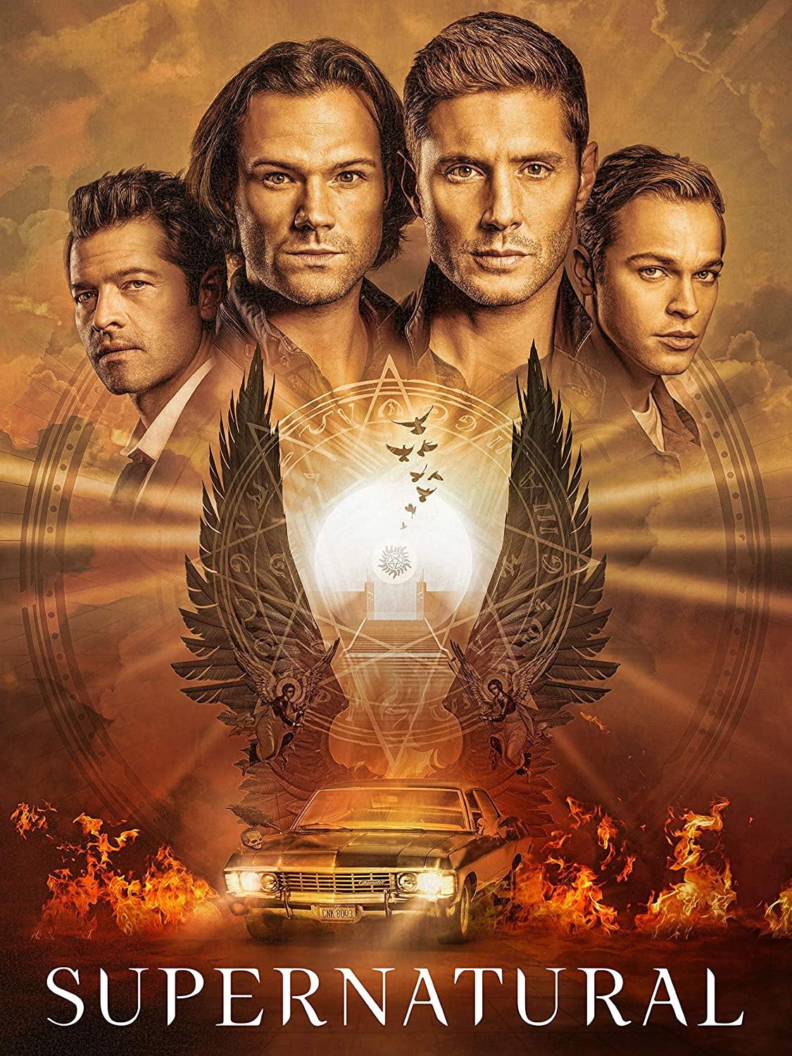 Supernatural: The Complete Fifteenth Season [BLU-RAY]