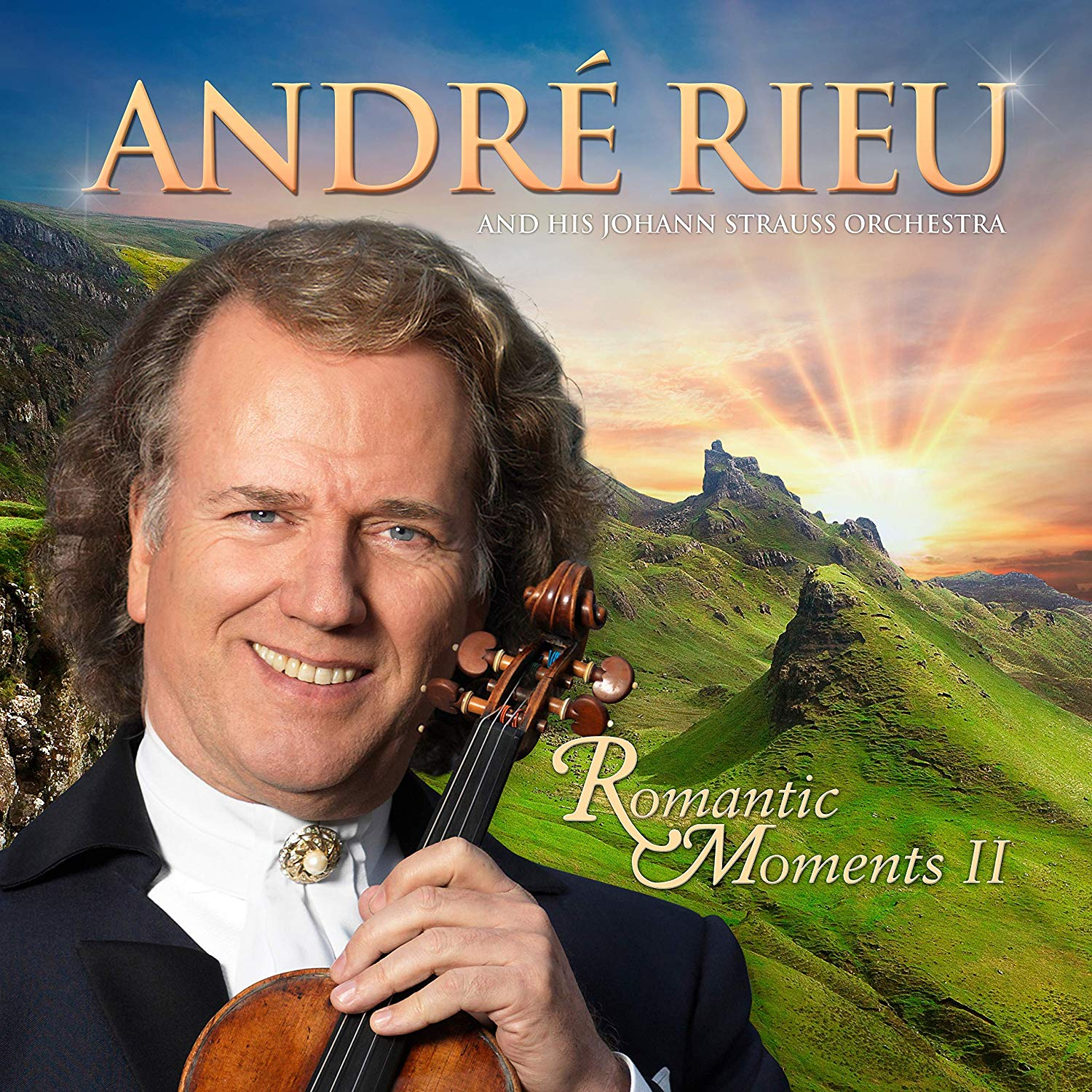 André Rieu: Romantic Moments II - André Rieu [CD] OUT NOW