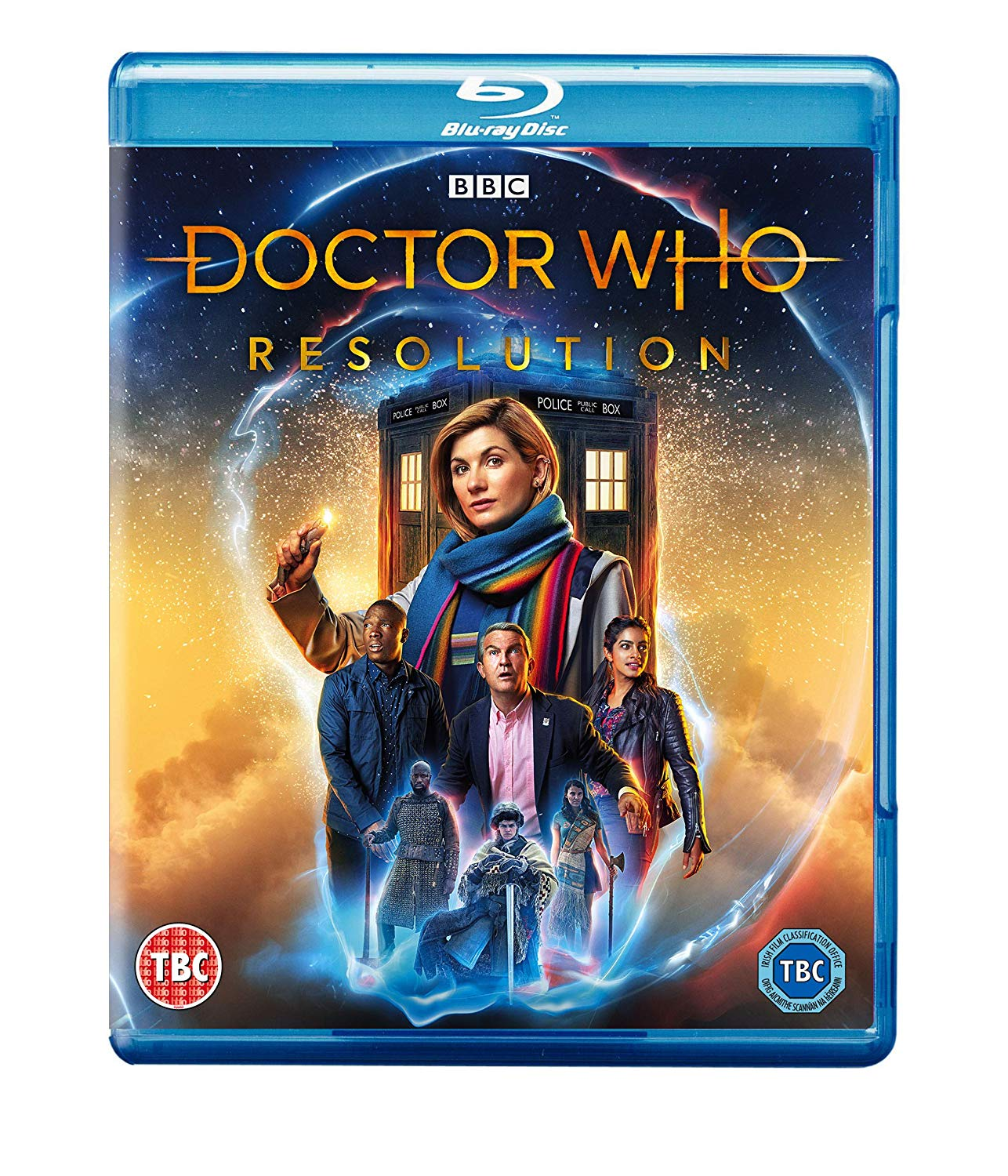 Doctor Who: Resolution - Chris Chibnall [BLU-RAY]