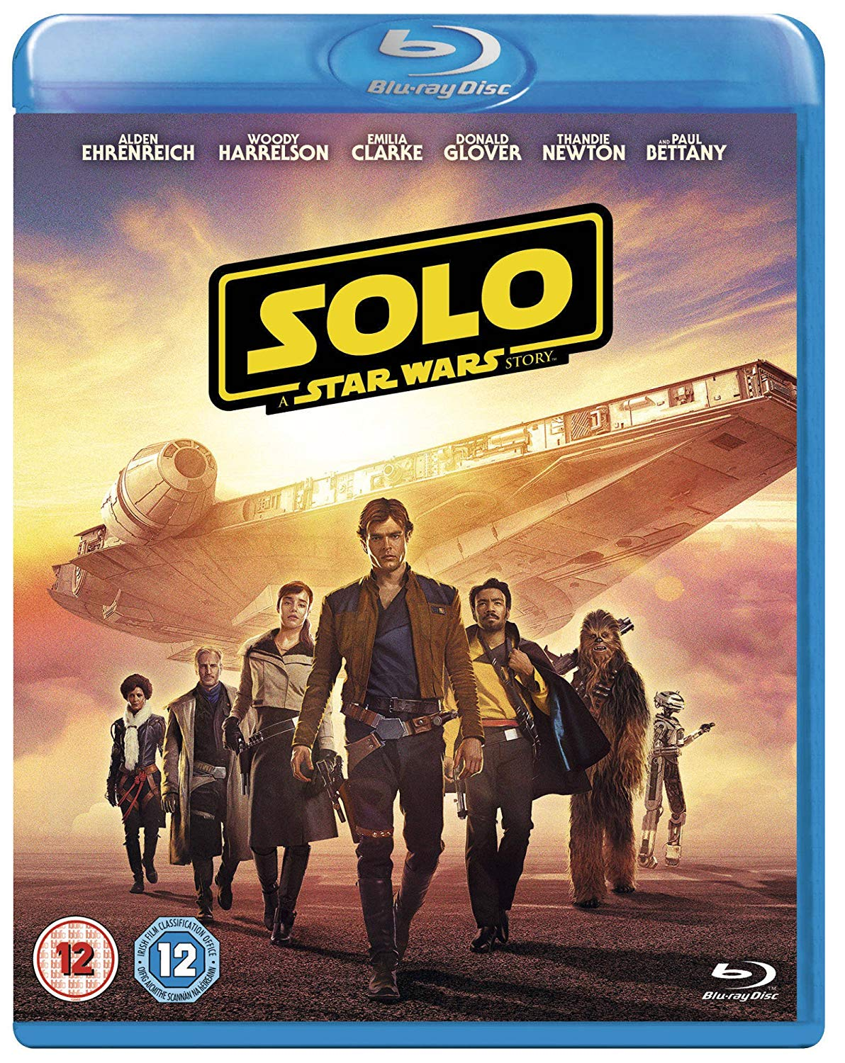 Solo - A Star Wars Story - Ron Howard [BLU-RAY]