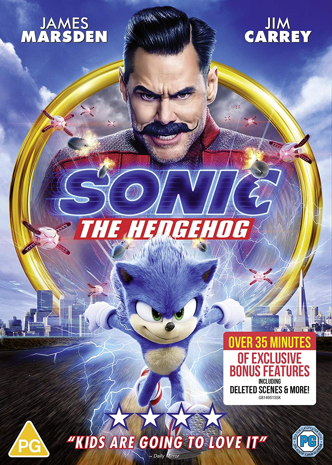 Sonic the Hedgehog - Jeff Fowler [DVD]
