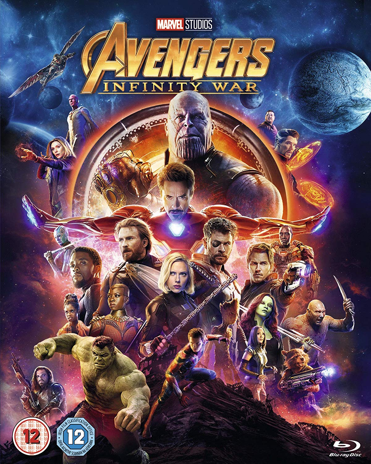 Avengers: Infinity War - Anthony Russo [BLU-RAY]