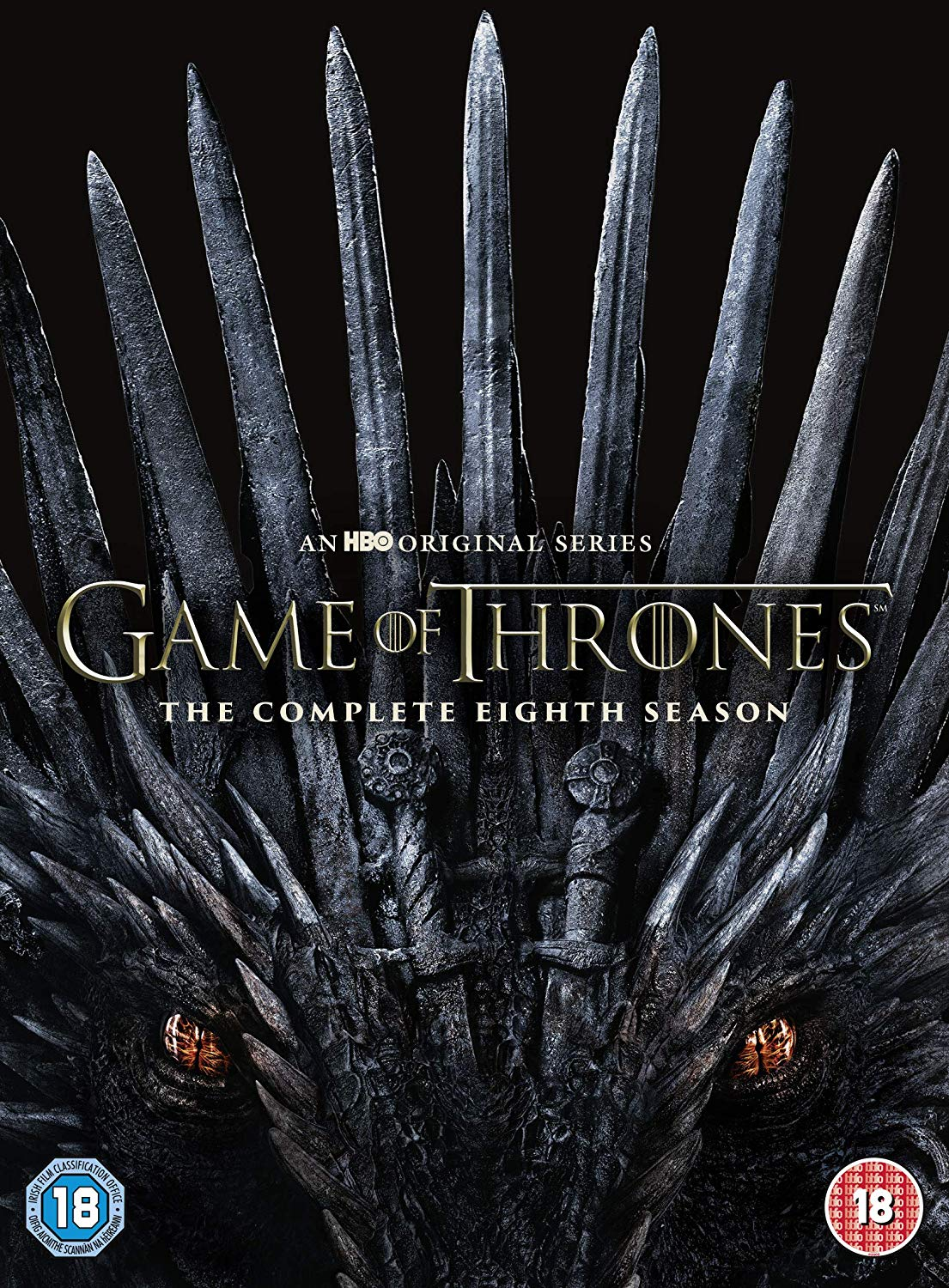 Game of Thrones: The Complete Eighth Season - David Benioff [DVD]  OUT 29.11.19 PRE-ORDER NOW